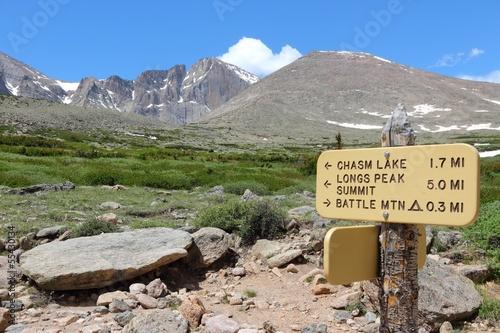 Poster Parc Naturel Rocky Mountains, USA