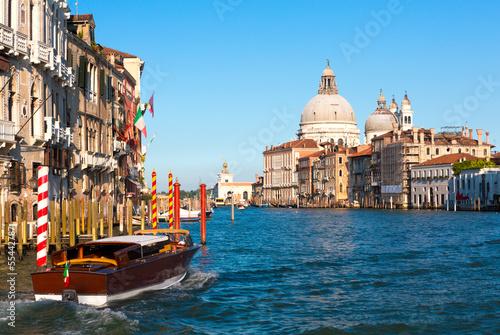 Stickers pour porte Venise Grand canal, Venice