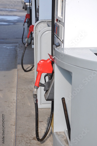 Photo  Gasoline station