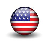 Fototapeta Nowy Jork - flag usa