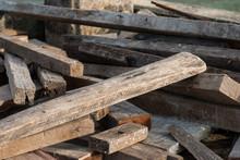 Scrap Wood Pile