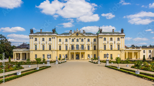 Poster Artistique Branicki Palace in Bialystok