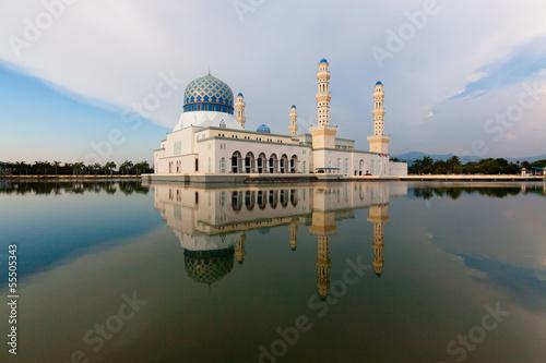 Fotografía  Kota Kinabalu floating mosque at Sabah, Malaysia