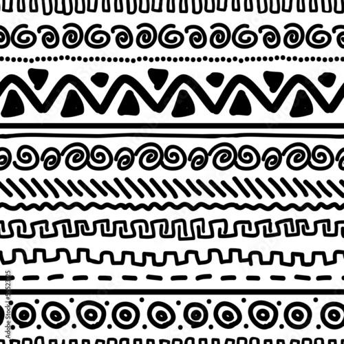 etniczny-czarno-bialy-wzor