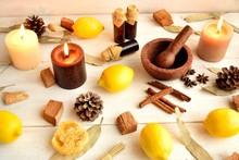 Lemon And Aromatherapy And Pot...
