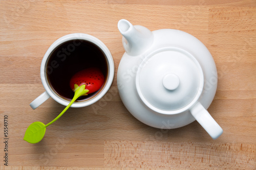 Fotografia, Obraz  Infused Tea and Teapot