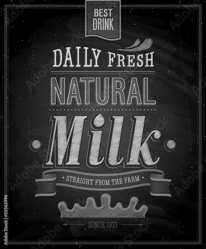 plakat-rocznika-mleka-tablica-ilustracji-wektorowych