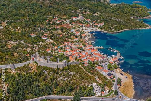 Fotobehang Oceanië Mali Ston, Dubrovnik archipelago