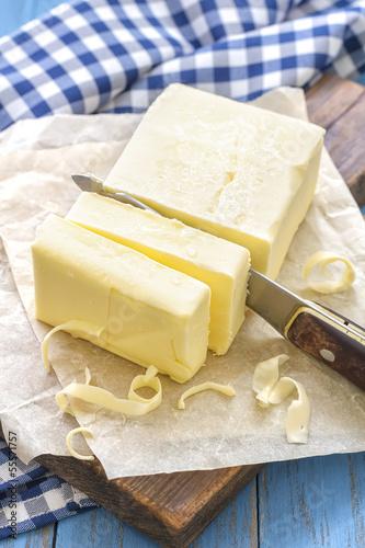 Staande foto Zuivelproducten Butter