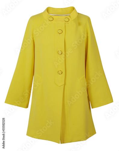 Fotografie, Tablou  yellow coat