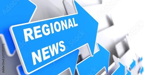 Regional News. Information Concept. #55583975