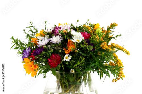 Foto op Canvas Madeliefjes Bunch Of Flowers