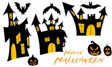 Zestaw Ilustracji Na Halloween