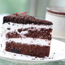 Black Coffee And Cake