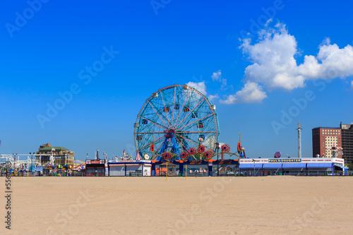 Zdjęcie XXL Coney Island, Brooklyn, Nowy Jork