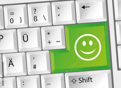 Tastatur computer smileys ツ