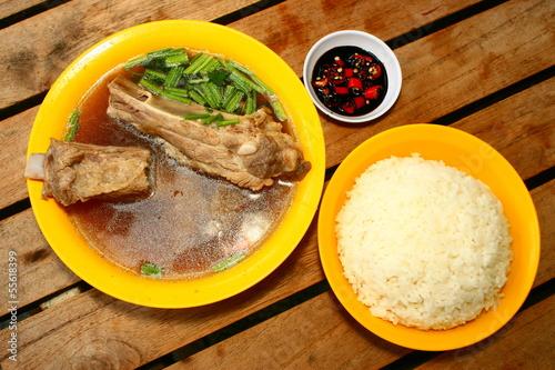 Photo  Bah Kut Teh, Chinese Pork Rib Soup , , Singapore Malaysia food