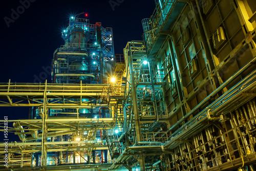 Staande foto Industrial geb. indastrial landscape