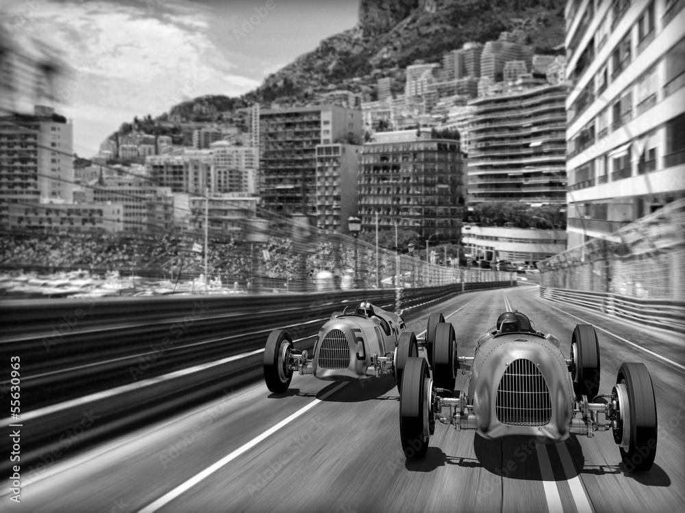 Fototapety, obrazy: Samochody retro