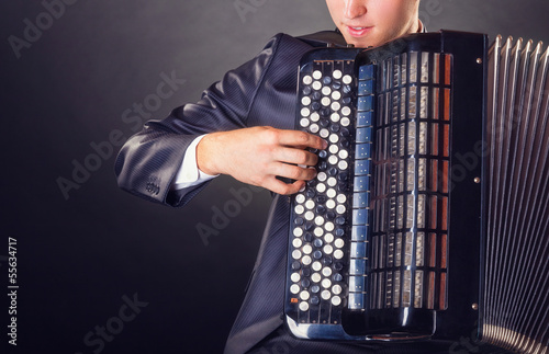 Fotografia, Obraz  Accordion