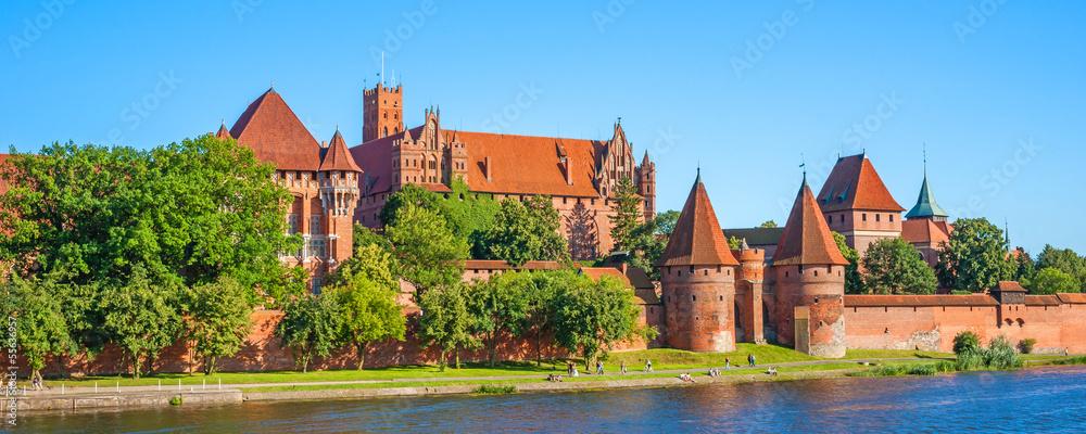 Fototapety, obrazy: Malbork Castle