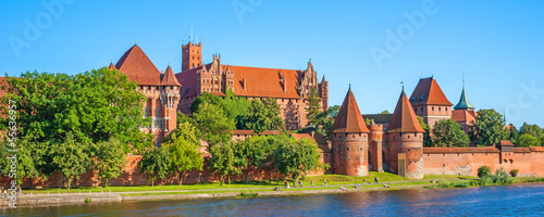 Obraz Malbork Castle - fototapety do salonu