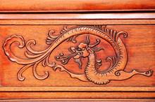 Wood Carving Dragon