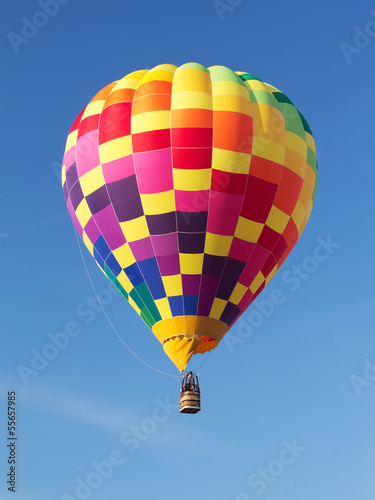 Fényképezés  Colorful Hot Air Balloon