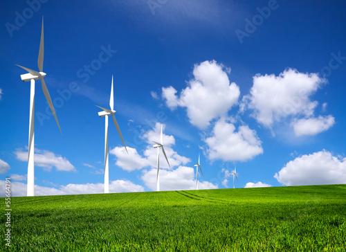 Foto op Plexiglas Molens Energy