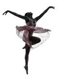 kobieta baleriny balet tancerz taniec sylwetka - 55688748