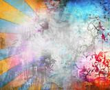 Fototapeta Młodzieżowe - Abstract colorful illustration