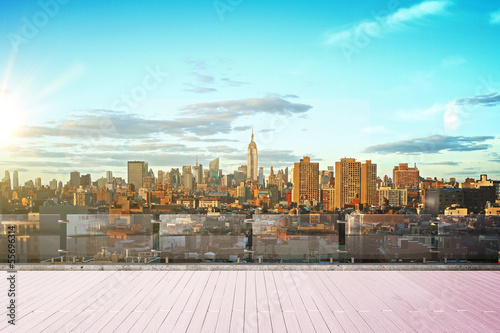 Photo  New York city skyline