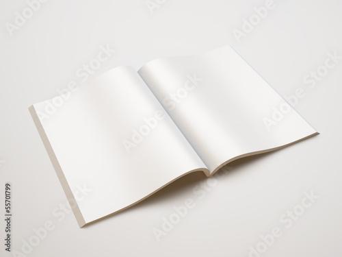 Photographie  blank magazine