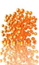 Explosion De Billes Oranges