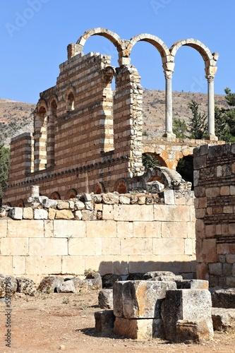 Fotobehang Midden Oosten Anjar, Lebanon