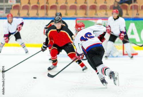 Photo Ice Hockey Game