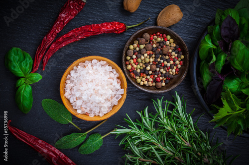 Spices and herbs - 55736998
