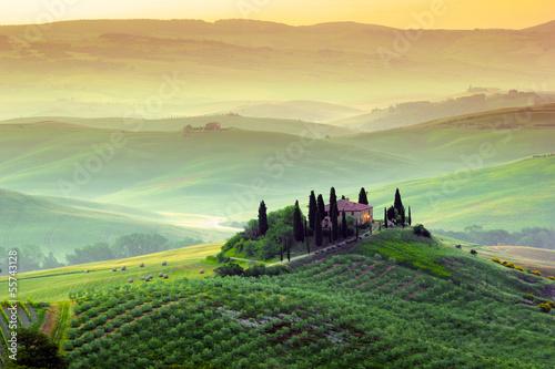 Fotografija  Campagna toscana, Italia