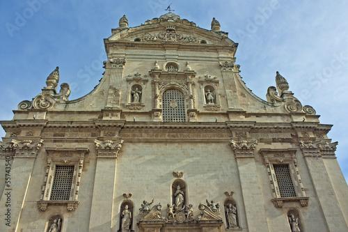 Fotografie, Obraz  Galatina, the cathedral - Puglia - Italy
