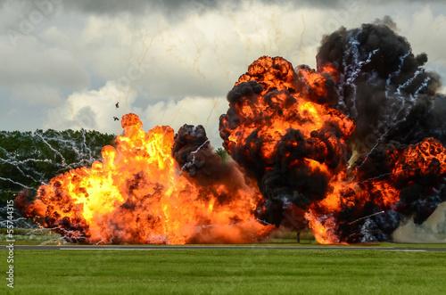 Fotografie, Obraz  large explosion