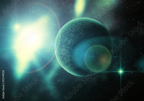 planeta-wsrod-gwiazd-w-glebokiej-przestrzeni