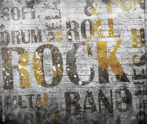plakat-muzyki-grunge-rock