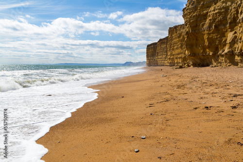 Photo  Burton Bradstock Beach Dorset