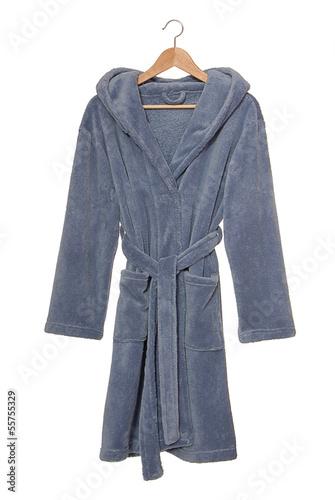 Fotografie, Obraz  Blue bathrobe