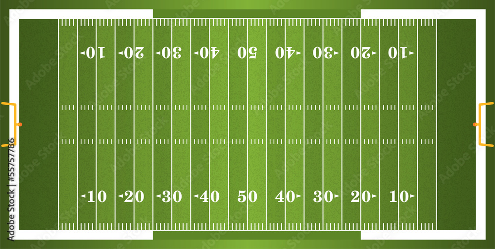 Teksturowane boisko do futbolu amerykańskiego <span>plik: #55757786 | autor: enterlinedesign</span>