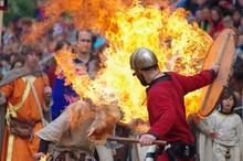 Fête Médiévale - Combat