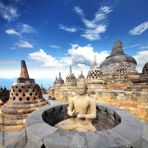 Foto op Plexiglas Indonesië Indonesia (Java) - Candi Borobudur