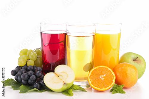Stickers pour portes Jus, Sirop fruit juice