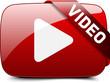 Leinwanddruck Bild - Video button