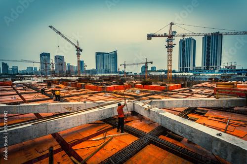 Fotografía  at a construction site